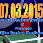 III Turniej Tenisa Stołowego o Puchar Wójta Gminy Bodzanów 7 marzec